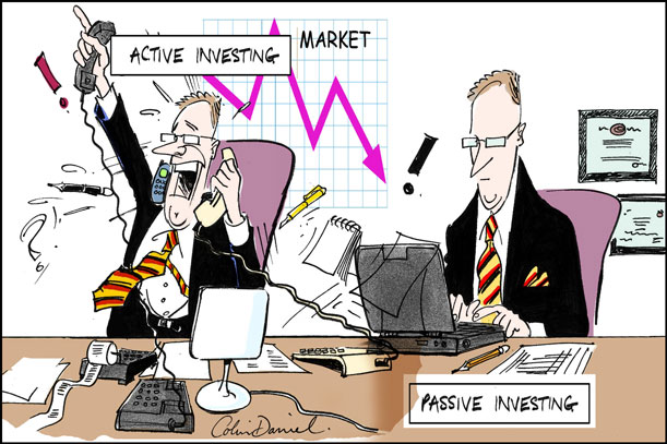 سرمایهگذاری فعال و منفعل